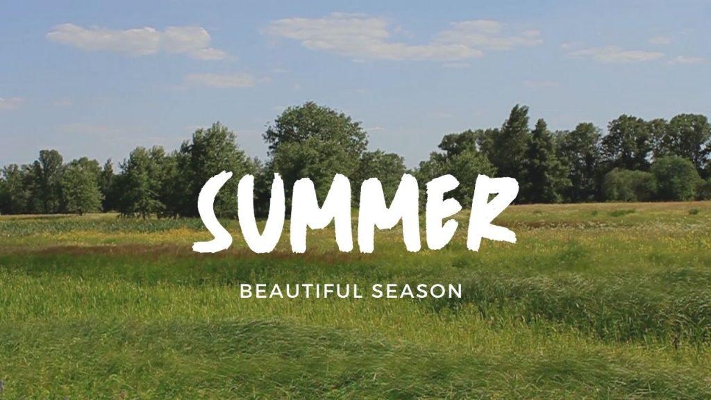 Beautiful Summer Season Scenes And Relaxing Music