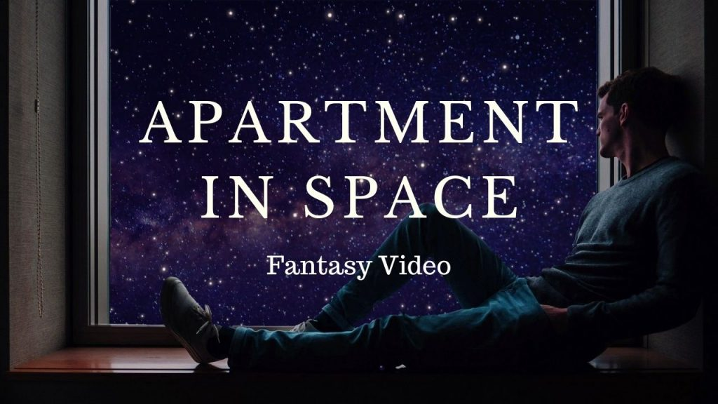 Apartment in Deep Space Fantasy Video
