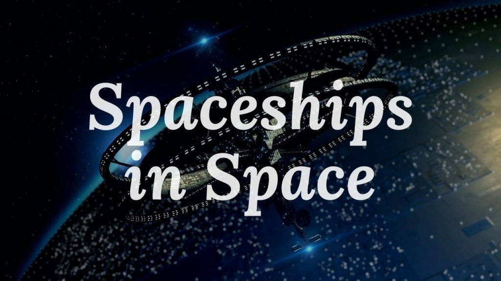 Spaceships In Space Relaxation Video